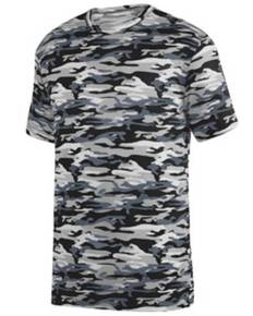 Augusta Drop Ship 1806 Youth Mod Camo Wicking Short-Sleeve T-Shirt
