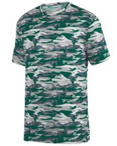 Augusta Sportswear 1806 Youth Mod Camo Wicking Short-Sleeve T-Shirt