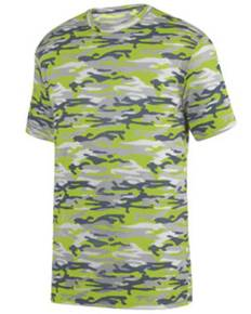 Augusta Drop Ship 1806 Youth Mod Camo Wicking Short-Sleeve T-Shirt