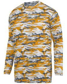 Augusta Sportswear 1807 Adult Mod Camo Wicking Long-Sleeve T-Shirt