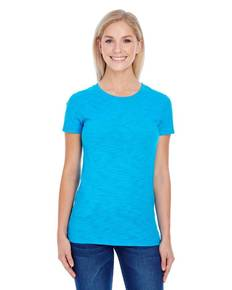 Threadfast Apparel 201A Ladies' Slub Jersey Short-Sleeve T-Shirt