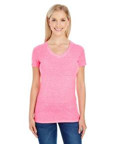 threadfast-apparel-202b-ladies-39-triblend-short-sleeve-v-neck-tee