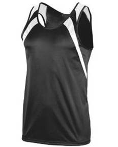 Augusta Sportswear 312 Youth Wicking Tank with Shoulder Insert