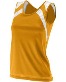 Augusta Sportswear 313 Ladies' Wicking Tank with Shoulder Insert