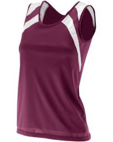 Augusta Drop Ship 313 Ladies' Wicking Tank with Shoulder Insert