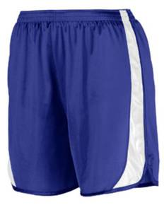 Augusta Drop Ship 328 Youth Wicking Track Short with Side Insert