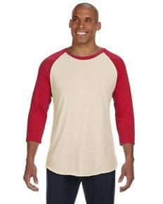 Alternative AA2089 Men's Baseball T-Shirt
