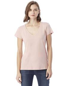 Alternative 02840MR Ladies' Everyday Cotton Modal V-Neck