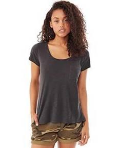 Alternative 12421J Ladies' Washed Slub Favorite T-Shirt
