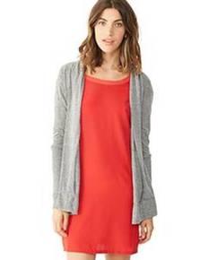 Alternative 12529E Ladies' Eco-Jersey™ Rib Sleeve Wrap