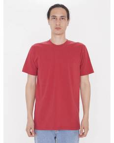 American Apparel 2001OR Unisex Organic Short-Sleeve Fine Jersey T-Shirt