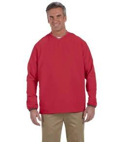 Ashworth 5267 Men's V-Neck Wind Jacket