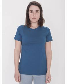 American Apparel 23215OR Ladies' Organic Fine Jersey Classic T-Shirt