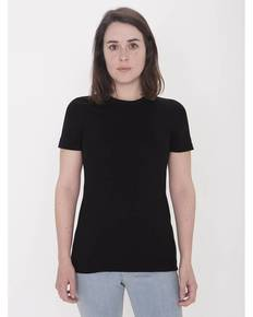 American Apparel Drop Ship 23215OR Ladies' Organic Fine Jersey Classic T-Shirt