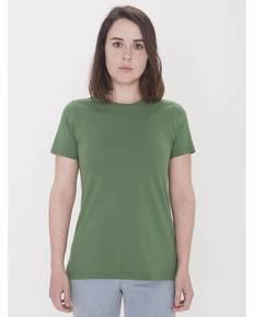American Apparel Drop Ship 23215OR Ladies' Organic Fine Jersey Classic T-Shirt