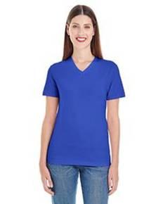 American Apparel 2356 Ladies' Fine Jersey Short-Sleeve Classic V-Neck
