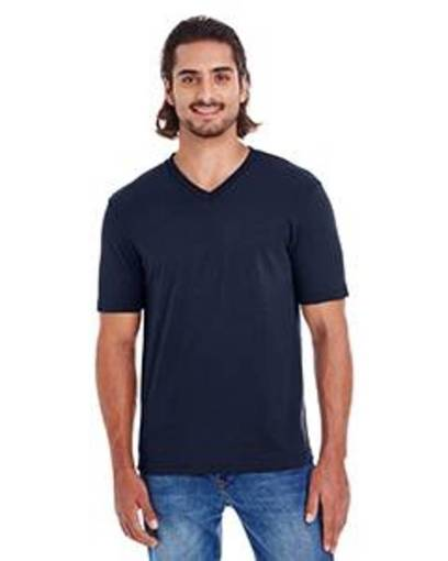 american apparel 24321 unisex fine jersey short-sleeve classic v-neck front image