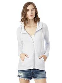 Alternative 2896E1 Ladies' Cool Down Eco-Jersey™ Zip Hoodie