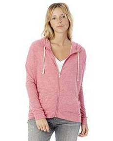 Alternative 2896E1 Ladies' Cool Down Eco-Jersey™ Zip Hoodie
