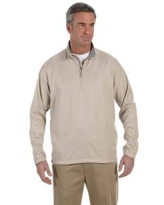 Ashworth 5330 Men's Houndstooth Half-Zip Jacket