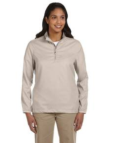 Ashworth 5358C Ladies' Houndstooth Half-Zip Jacket