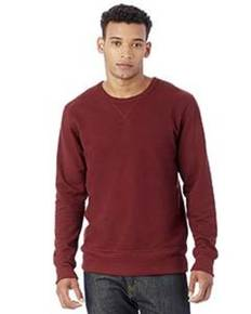 Alternative 5065BT Men's Reversible B-Side Vintage French Terry Crewneck