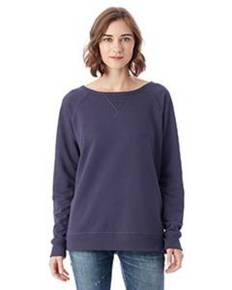 Alternative 5068BT Ladies' Reversible Scrimmage Vintage French Terry Pullover