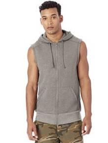 Alternative 5069BT Men's French Terry Warm Up Hoodie