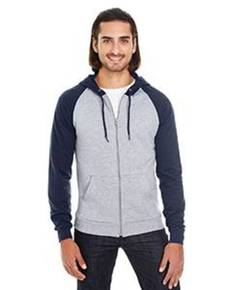 American Apparel 5497 Unisex California Fleece Zip Hoodie