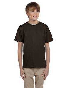 Hanes 5370 Youth 5.2 oz., 50/50 EcoSmart® T-Shirt