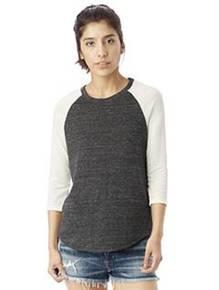 Alternative 61352 Ladies' Eco-Jersey™ Raglan Baseball T-Shirt