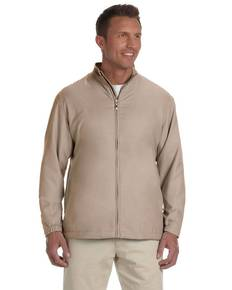 Ashworth 5378 Men's Full-Zip Lined Wind Jacket