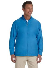 Ashworth 5378 Men's Full-Zip Lined Wind Jacket