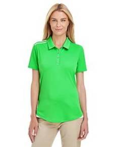 adidas Golf A235 Ladies' 3-Stripes Shoulder Polo
