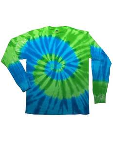Tie-Dye CD2000 Adult 5.4 oz. 100% Cotton Long-Sleeve T-Shirt