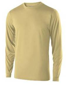 Holloway 222525 Adult Polyester Long Sleeve Gauge Shirt