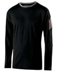 Holloway 222627 Youth Polyester Long Sleeve Electron Shirt