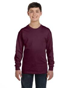hanes-5546-youth-6-1-oz-tagless-comfortsoft-long-sleeve-t-shirt