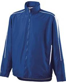 Holloway 229062 Adult Polyester Full Zip Hooded Aggression Jacket