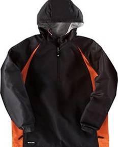 Holloway 229064 Adult Polyester 1/4 Zip Hooded Hurricane Jacket