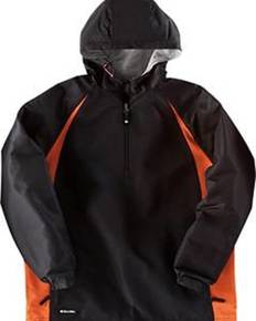 Holloway 229064 Adult Polyester 1/4 Zip Hooded Hurricane Jacket