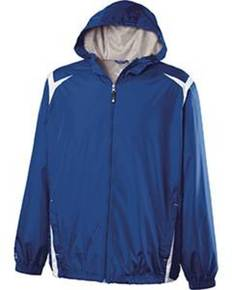 Holloway 229276 Youth Polyester Full Zip Hooded Collision Jacket