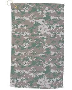 Pro Towels CAM25CG Large Camo Golf Towel