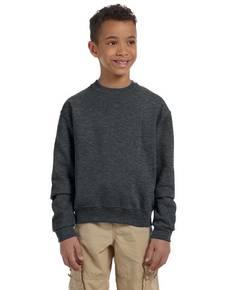 Jerzees 562B Youth 8 oz. NuBlend® Fleece Crew