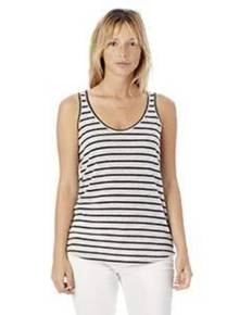Alternative 2001EJ Castaway Eco-Jersey™ Yarn Dye Stripe Tank