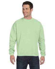 Authentic Pigment 11561 11 oz. Pigment-Dyed Ringspun Cotton Fleece Crew