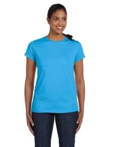 Hanes 5680 Hanes 5680 Ladies' 5.2 oz. ComfortSoft® Cotton T-Shirt