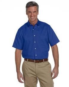 Van Heusen 56850 Men's Short-Sleeve Wrinkle-Resistant Oxford