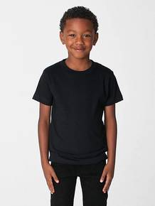 American Apparel 2105ORW Toddler Organic Fine Jersey Short-Sleeve T-Shirt