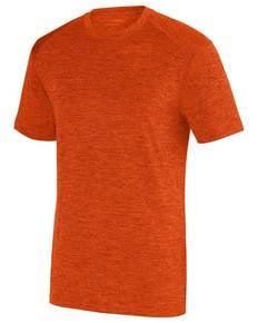 Augusta Sportswear 2950 Adult Intensify BlackHeather Short-Sleeve Training T-Shirt